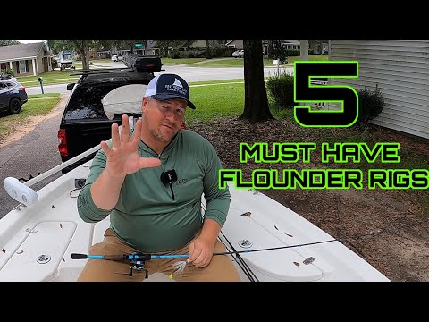 5 MUST HAVE FLOUNDER RIGS - These Rigs Catch Flounder!