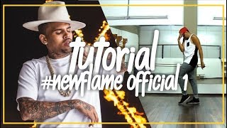 TUTORIAL | CHRIS BROWN NEW FLAME | DANCE CHOREOGRAPHY OFFICIAL | Dance Like Chris Brown - #3