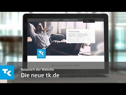 Relaunch der Website | Die neue tk.de