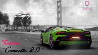 UPDATE #4 - NEW CAR: LAMBORGHINI HURACÁN EVO SPYDER (TESTDRIVE) | Asphalt 9: Legends