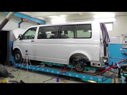 Volkswagen T5. Подготовка к вытяжке. Вытяжка кузова.
