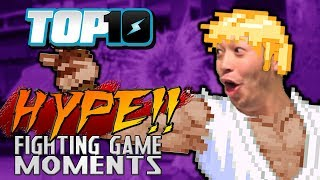 Top 10 Most HYPE Fighting Game Moments