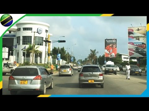Dar es Salaam streetscape from Upanga to Oyster bay - Tanzania