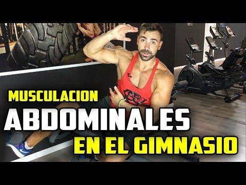 rutina para abdomen gimnasio