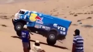 Kamaz Red Bull Trucks 2014 Dakar