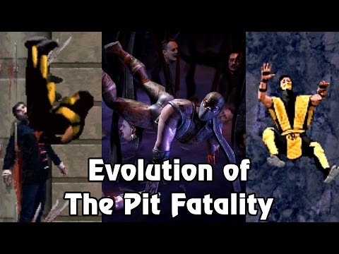 Mortal Kombat - Evolution Of The Pit Fatality (1992 - 2016)