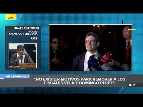 Concepción Carhuancho sobre salida de fiscales: Esto confirma 'la captura del Ministerio Público'