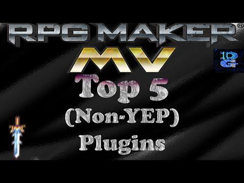 RPG Maker MV Top 5 (Non-YEP) MV Plugins