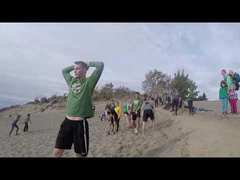 UAA's teams at Kincaid Park sand dunes