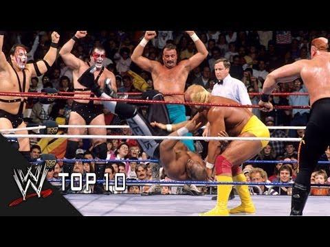 Shocking Survivor Series Eliminations - WWE Top 10