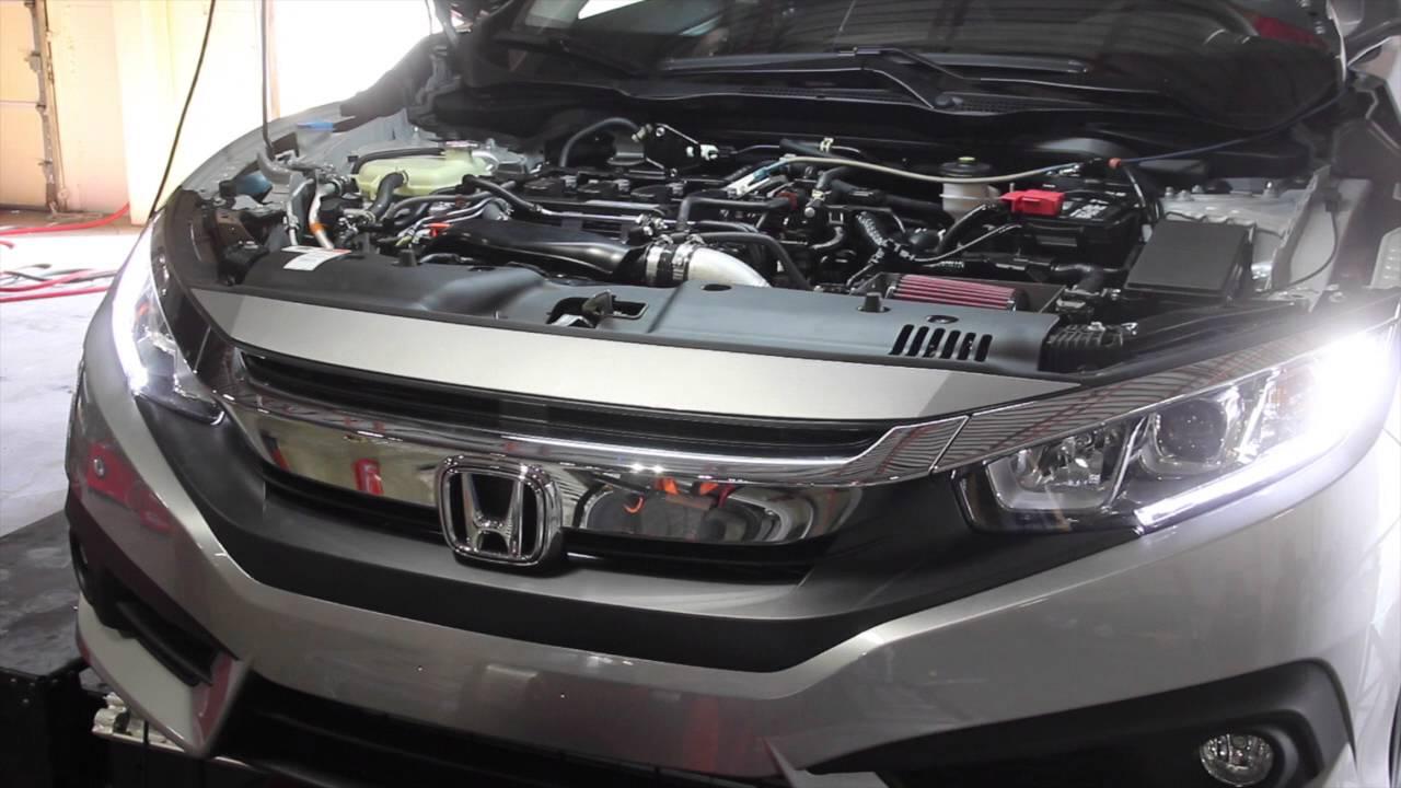 Honda Civic 1.5 Turbo Mishimoto AI-CIV-16RD Performance Air Intake Red For 16