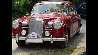MERCEDES BENZ- RETRO/ ВИДЕО#MBIG 38. Jahrestreffen 2018 #
