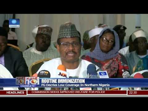 Routine Immunization: FG Decries Low Coverage In Northern Nigeria
