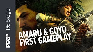 5 minutes of Operation Ember Rise gameplay | Rainbow Six Siege - Amaru and Goyo