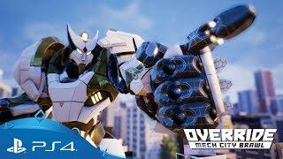 Override: Mech City Brawl | Announcement Trailer | PS4