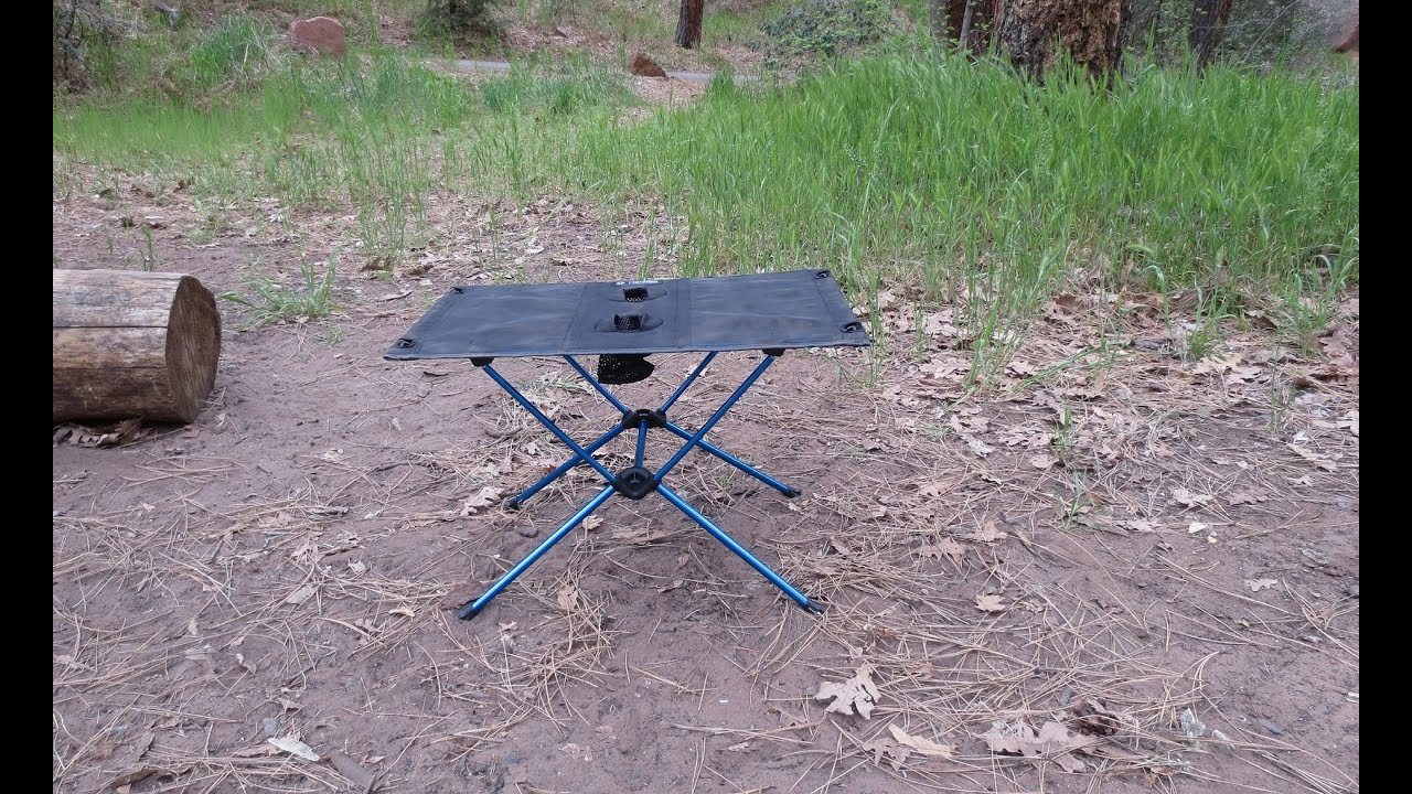 Helinox Camp Table Review