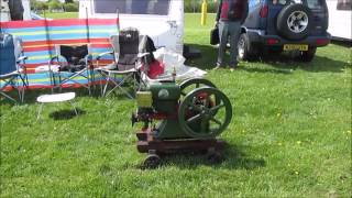 Stationary Engines At Abbey Hill Steam Rally 2015