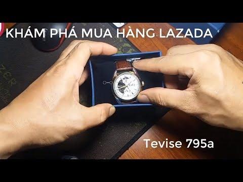 KHÁM PHÁ MUA HÀNG LAZADA TEVISE 795A/ TRẢI NGHIÊM VUI
