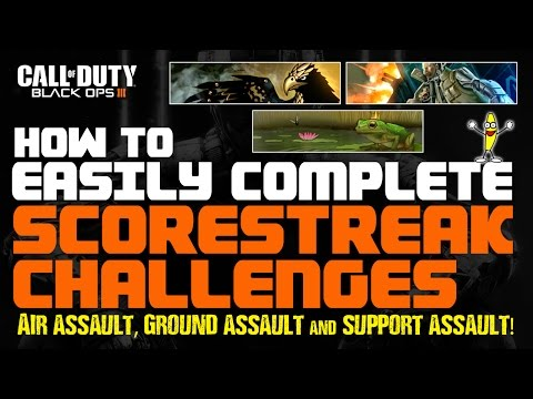 Black Ops 3 How To Do The Air Assault, Ground Assault And Support Assault Challenges