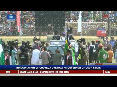 Gboyega Oyetola Sworn In, Takes Over As Osun State Governor Pt.6 |Live Event|