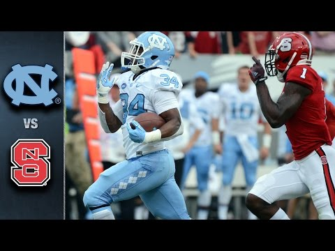 North Carolina vs. NC State Football Highlights (2015)