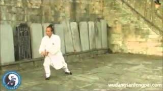 NEW !  WUDANG Tai Yi Wu Xing Quan @PurpleCloud Temple, Wudang Mountains