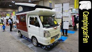 【インディ727:インディアナRV】 軽量、高断熱のアルミシェルを持つ軽キャブコンキャンピングカー Japanese Motorhome Campingcar