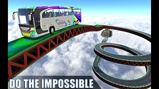 Impossible Bus Simulator Tracks Driving (By United Racing and Simulation Games) Android Gameplay HD
