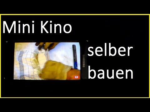 Mini Kino selber bauen - Schachtelkino basteln - Kino für Smartphone - Make Your Own Theater Box