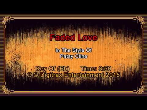 Patsy Cline - Faded Love (Backing Track)