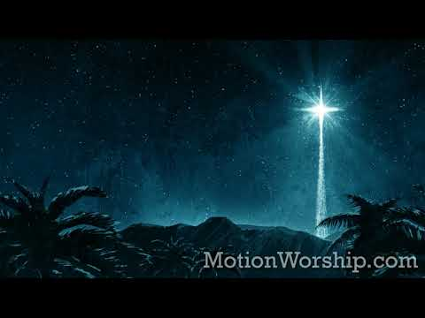 Holy Night Star Mountains HD Loop by Motion Worship