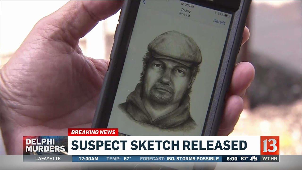 Police release sketch of Delphi murder suspect