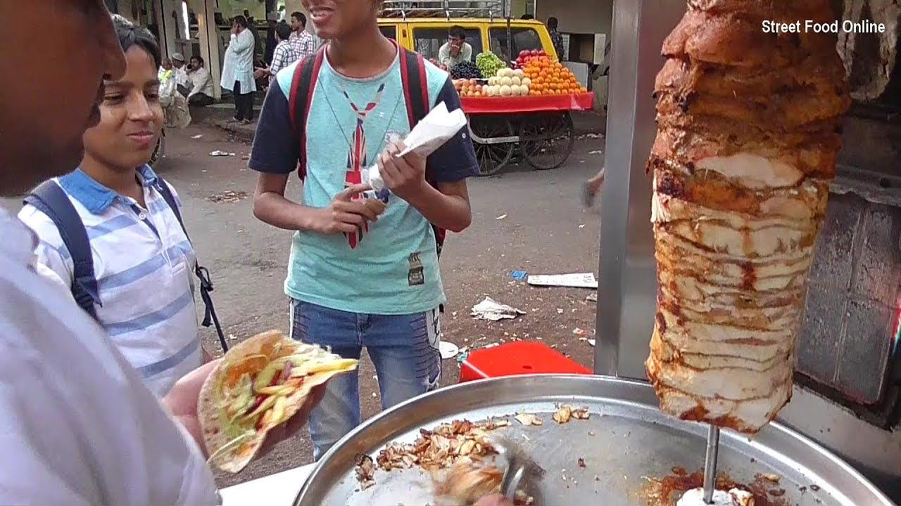 Chicken shawarma roll - photo#31