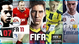 Every FIFA Trailer From FIFA 2001 - FIFA 18 🔥
