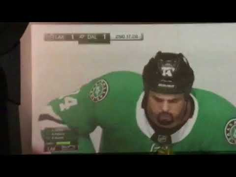 NHL 18 Game!! LA Kings vs Dallas Stars!!!