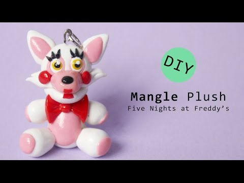 Five Nights at Freddy's 2 Mangle Plush Polymer Clay Tutorial