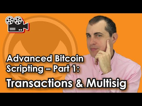 Advanced Bitcoin Scripting -- Part 1: Transactions & Multisi