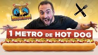 Desafio Monster Dog - 1 METRO DE HOTDOG