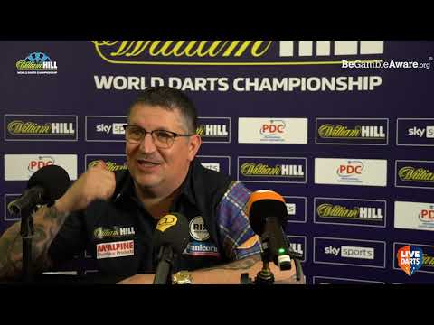 "Gary Anderson on world final defeat: ""I couldn't get near the treble. Gerwyn had a walkover"""