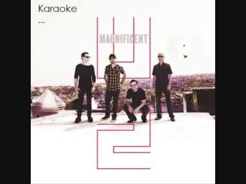 U2 - Magnificent,, Karaoke (HQ)