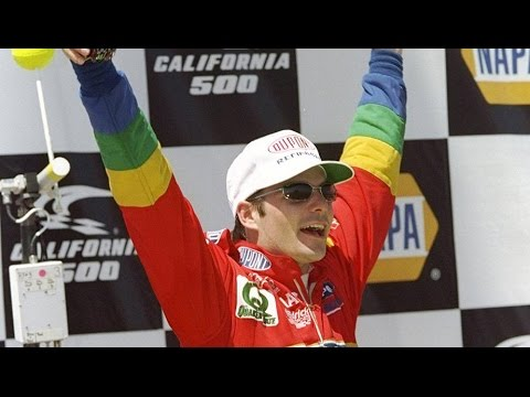 From The Vault: Jeff Gordon wins first race at Fontana