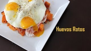 [Paleo Cooking] Spanish Tapas:  Broken Eggs