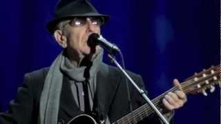 Leonard Cohen,  Night Comes On, Dublin, 12-09-2012