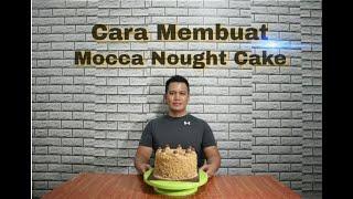 Cara membuat mocca nought cake