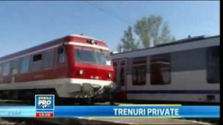 Trenuri Private vs CFR Calatori (reportaj TV)