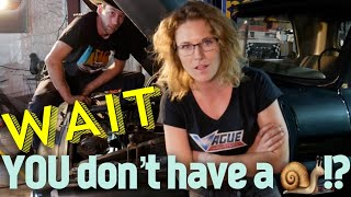 Turbo LS swap into a 66 C10- PART 1! In the shop with Emily EP 46