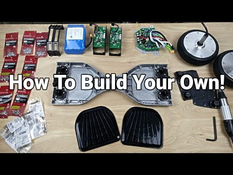 How To Build/Rebuild a Hoverboard/Balance Scooter!
