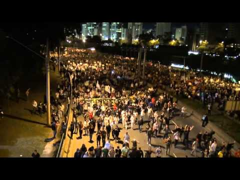 Vídeo dos Organizadores dos Protestos em SP