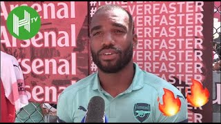 Alexandre Lacazette: Arsenal fans will see the real Lacazette this season | HaytersTV