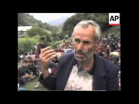 KOSOVO: ETHNIC ALBANIAN REFUGEE CRISIS DEEPENING